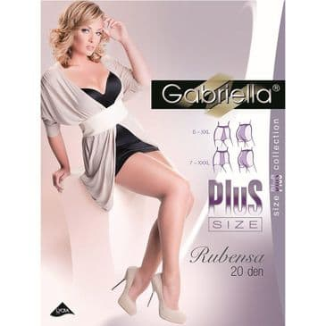 Gabriella Rubensa Plus Size Tights